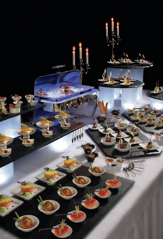 Buffet platters and more